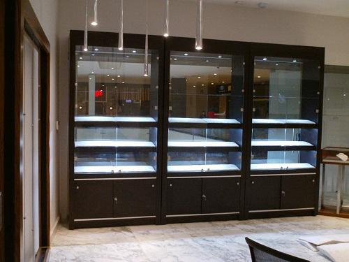 Muebles Joyeria : Fabricantes de kioscos comerciales vitrinas exhibidores